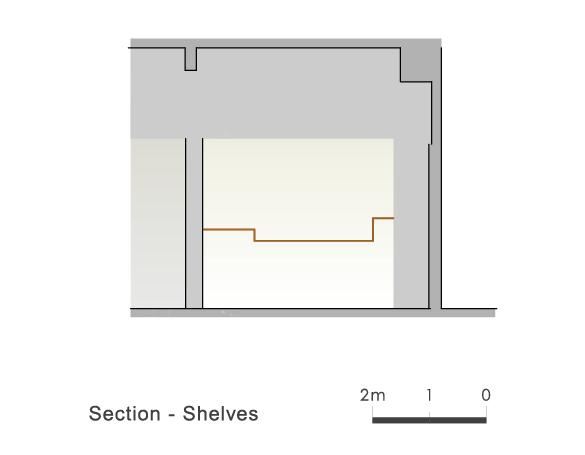 Section Shelves 2 Ryuichi Sasaki/Sasaki Architecture + Rieko Okumura/Atelier O}