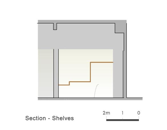 Section Shelves 3 Ryuichi Sasaki/Sasaki Architecture + Rieko Okumura/Atelier O}
