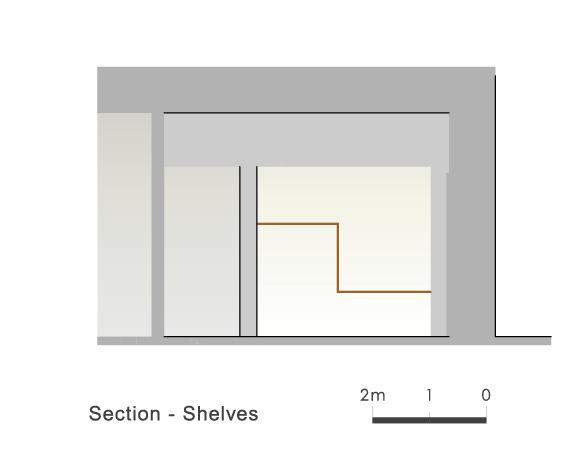 Section Shelves 4 Ryuichi Sasaki/Sasaki Architecture + Rieko Okumura/Atelier O}