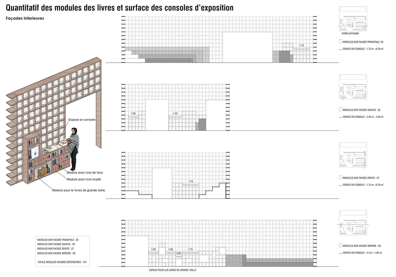 Shelving modules detail OUALALOU+CHOI}