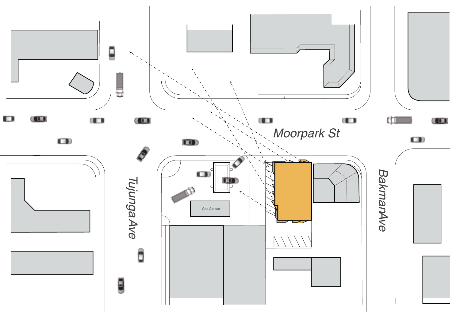 Apertures on site diagram Griffin Enright Architects}