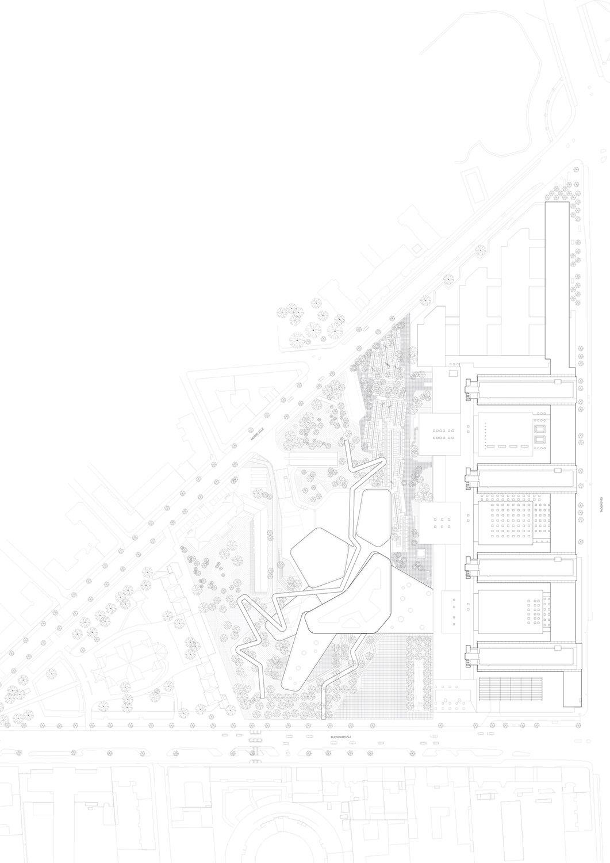 Siteplan C.F. Møller Architects}