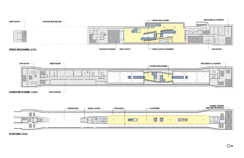 Floor plans. LMN Architects