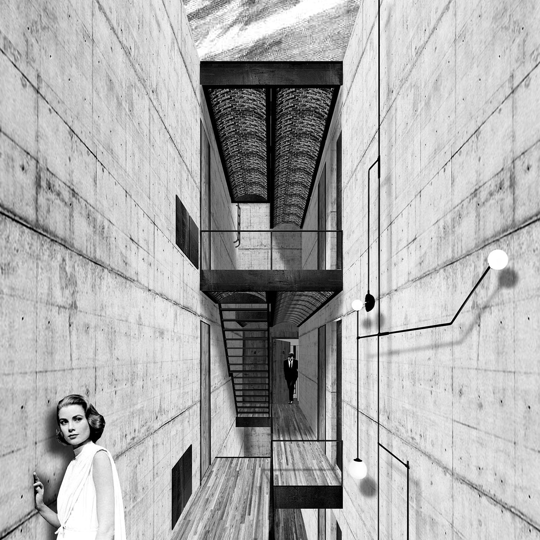 Staircase Dellekamp Arquitectos}