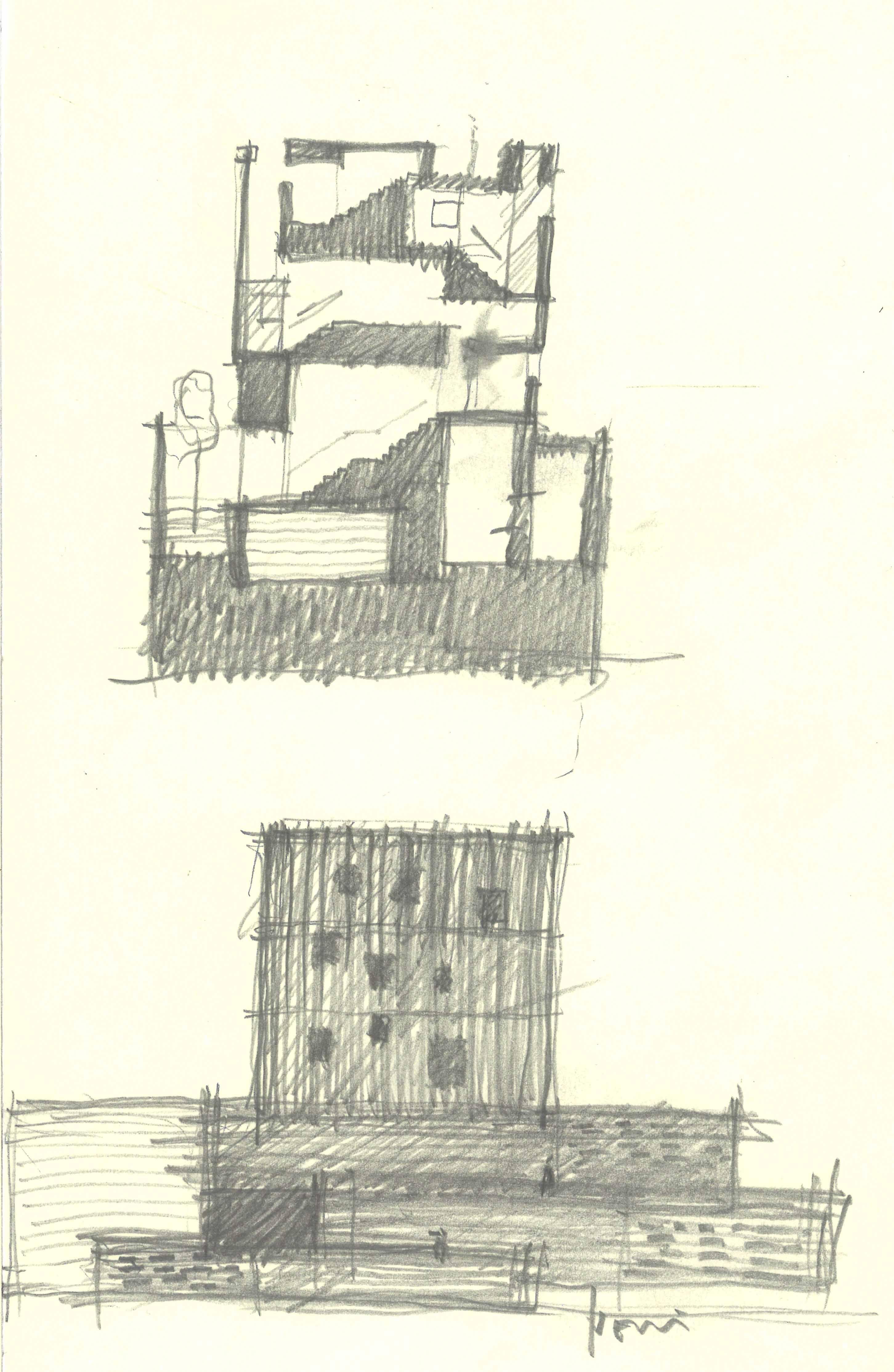 Souzhou Chapel sketch 1 }