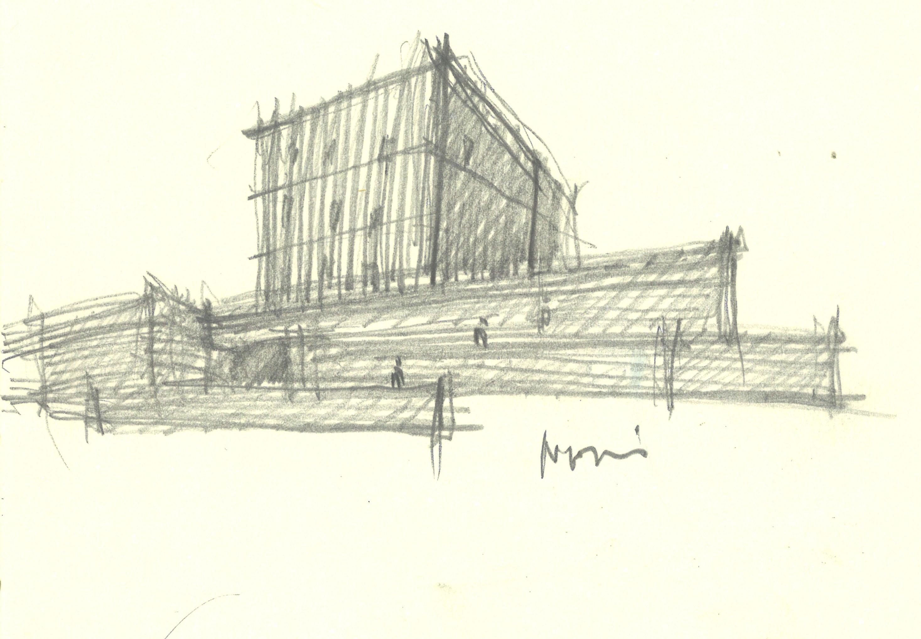 Souzhou Chapel sketch 2 }