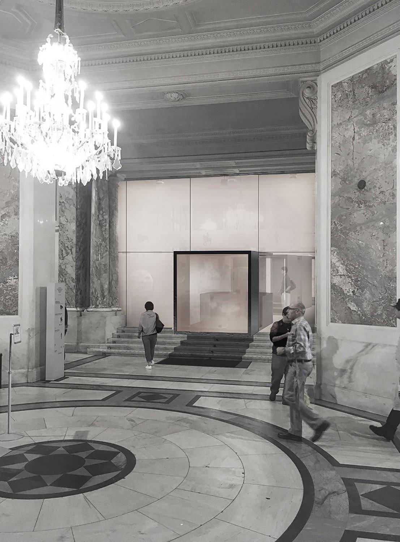 Entrance Design Schluderarchitektur with Tabanlioglu Architects
