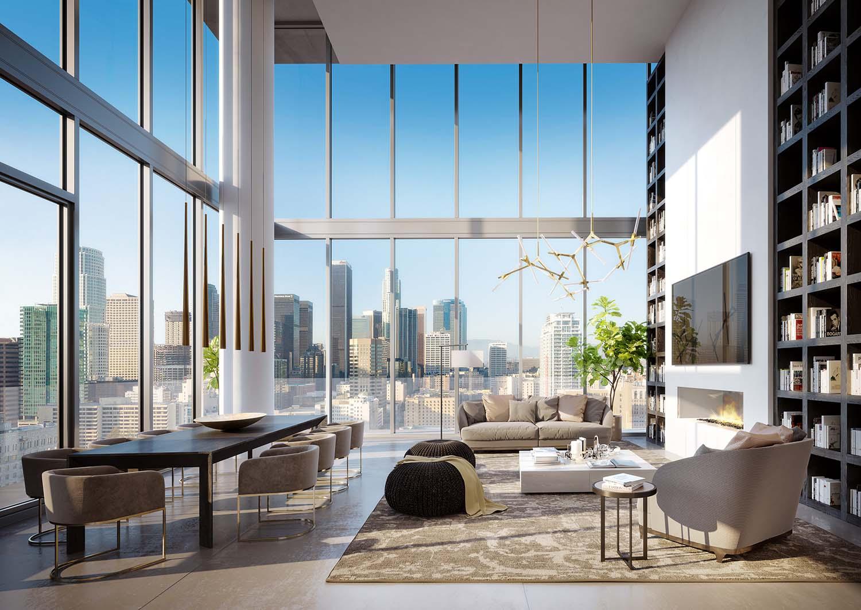 Ten50 Penthouse Rendering