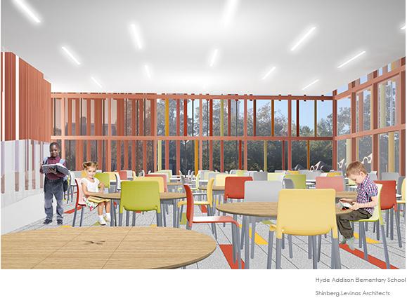 Hyde Addison Elementary School  Shinberg Levinas Architects