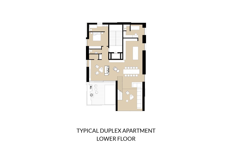 Diplex - Lower Floor AVA}