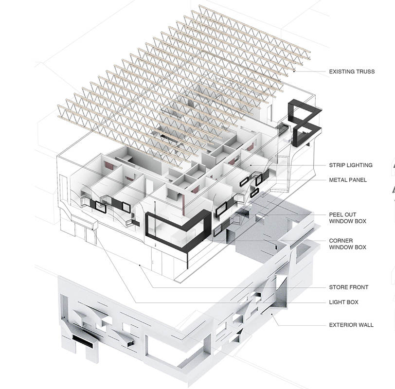 Exploded Axonometric Griffin Enright Architects}