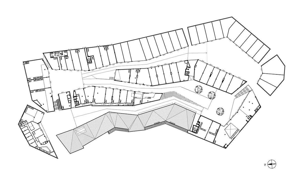The Market - One Works - floorplan }