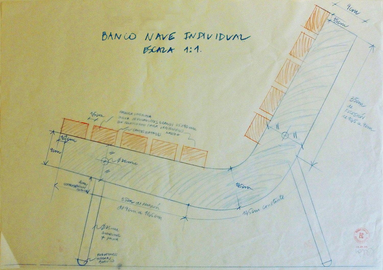 Hand drawing plan }