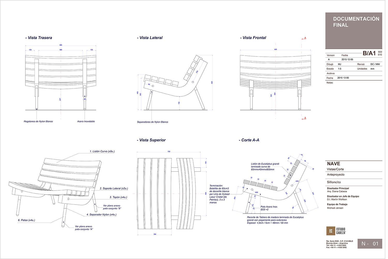 Construction drawings }
