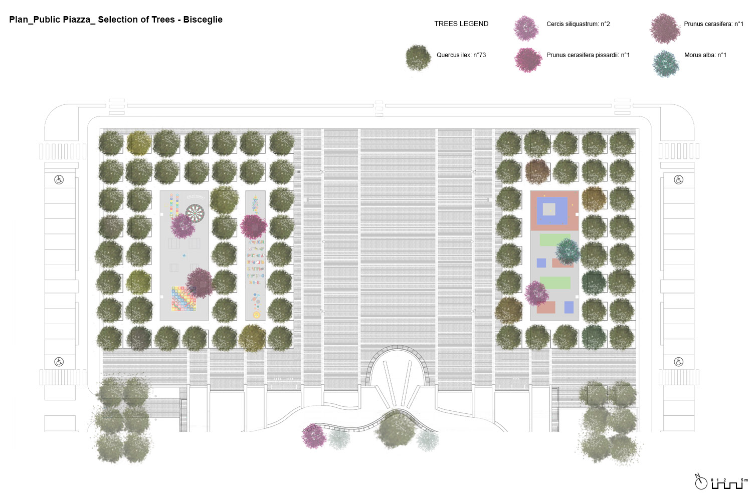 Selection of the trees PERALTA - design & consulting}
