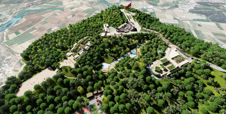 Aerial View Antalya Metropolitan Municipality Archive