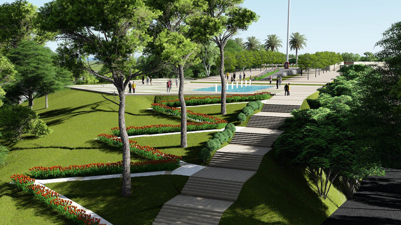 Soft and Hard Landscape Antalya Metropolitan Municipality Archive