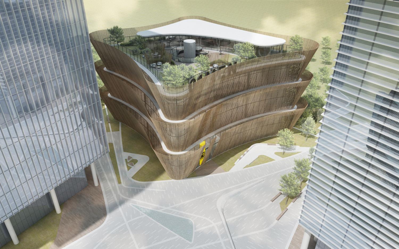 Aerial view duccio grassi architects}