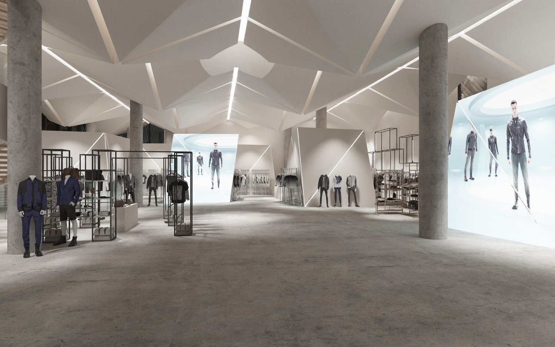 Internal exhibit staging duccio grassi architects}