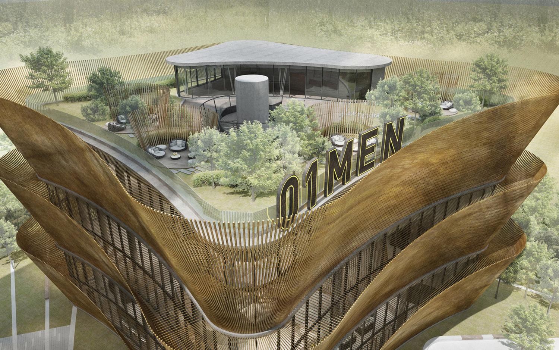 Rooftop terrace duccio grassi architects}