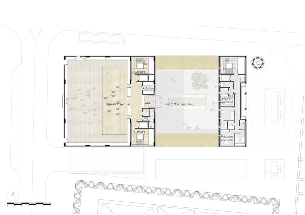 Upper Floor Plan_John McAslan + Partners }