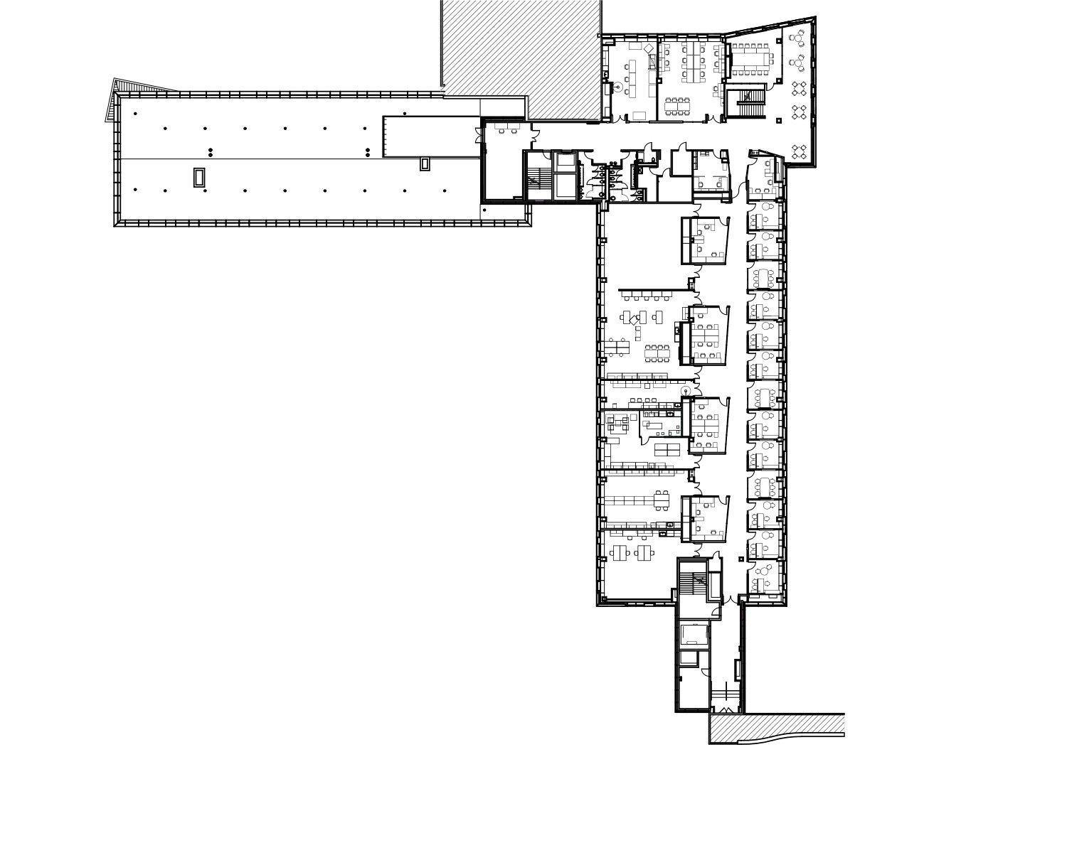 Cornell University Upson Hall: 5th Floor Plan LTL Architects}