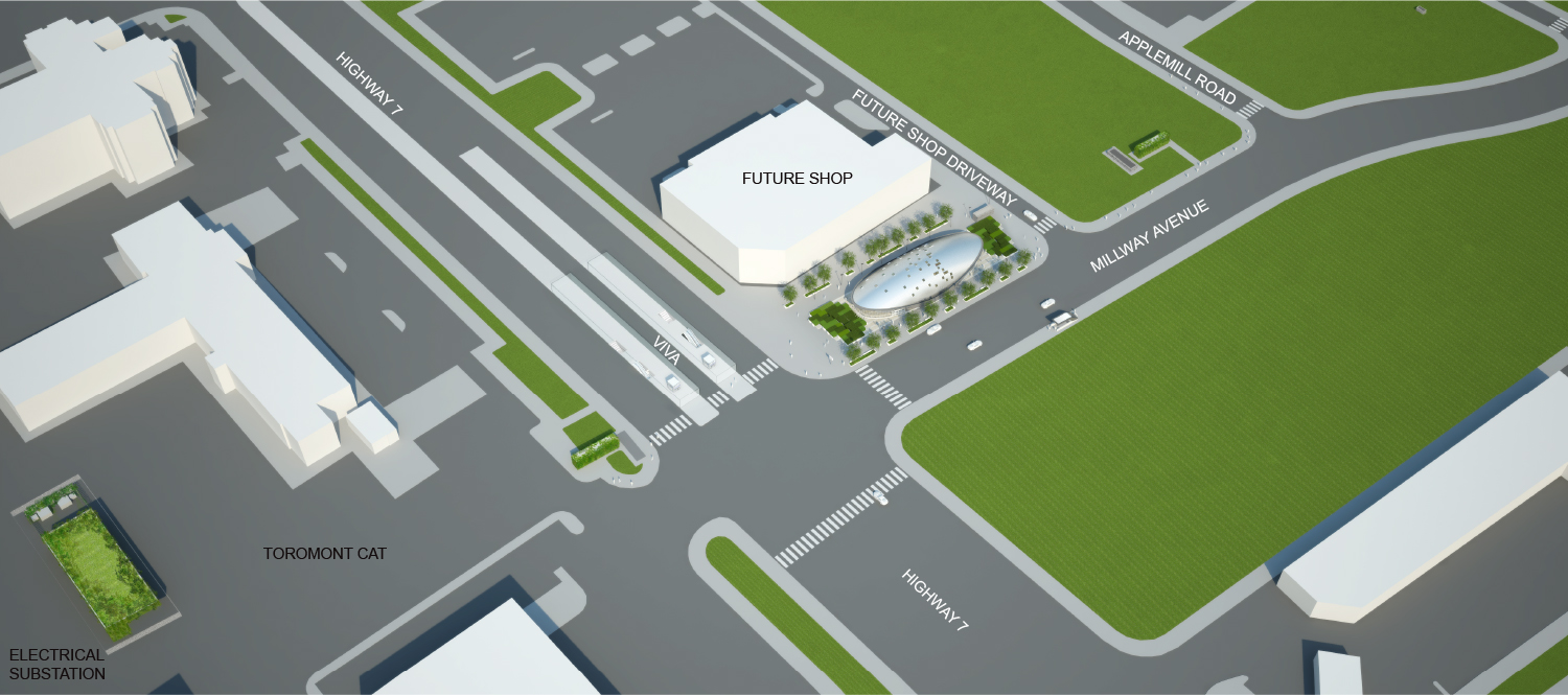 Aerial View Rendering - Opening Day Grimshaw}