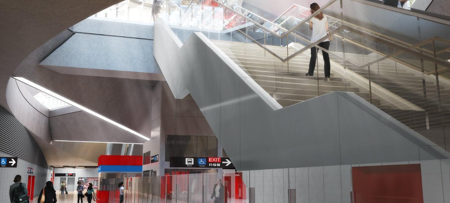 Rendering - Perspective - Concourse Grimshaw}