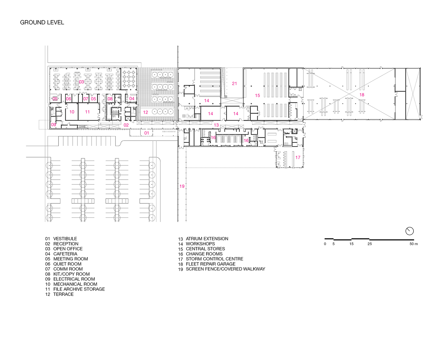 Ground Level plan RDHA}
