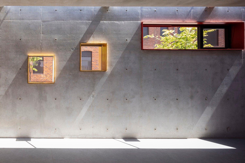 Internal concrete finished walls Brett Boardman