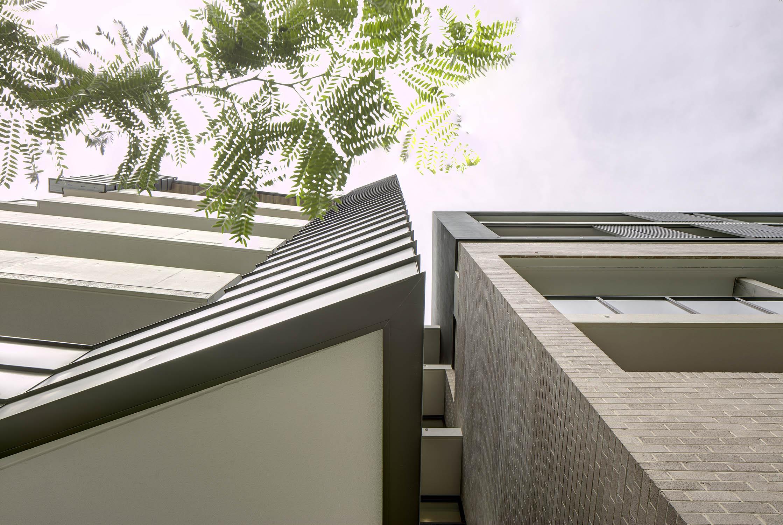 External Facade with Falzonal Flat-Shee Aluminium Cladding Brett Boardman
