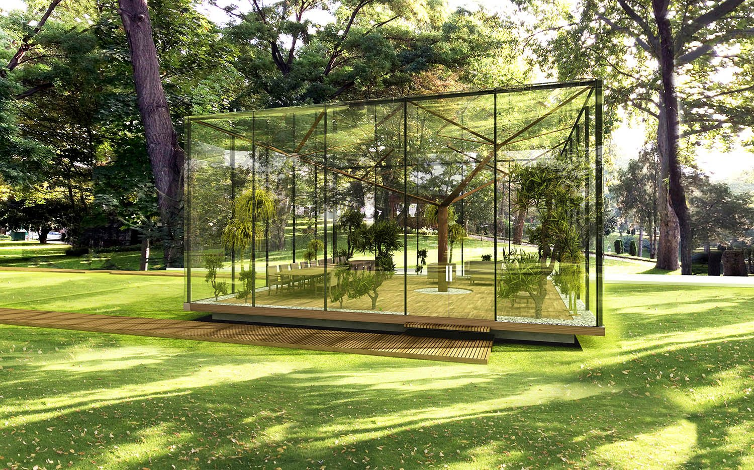 GLASS PAVILION - 03 YAZGAN DESIGN ARCHITECTURE