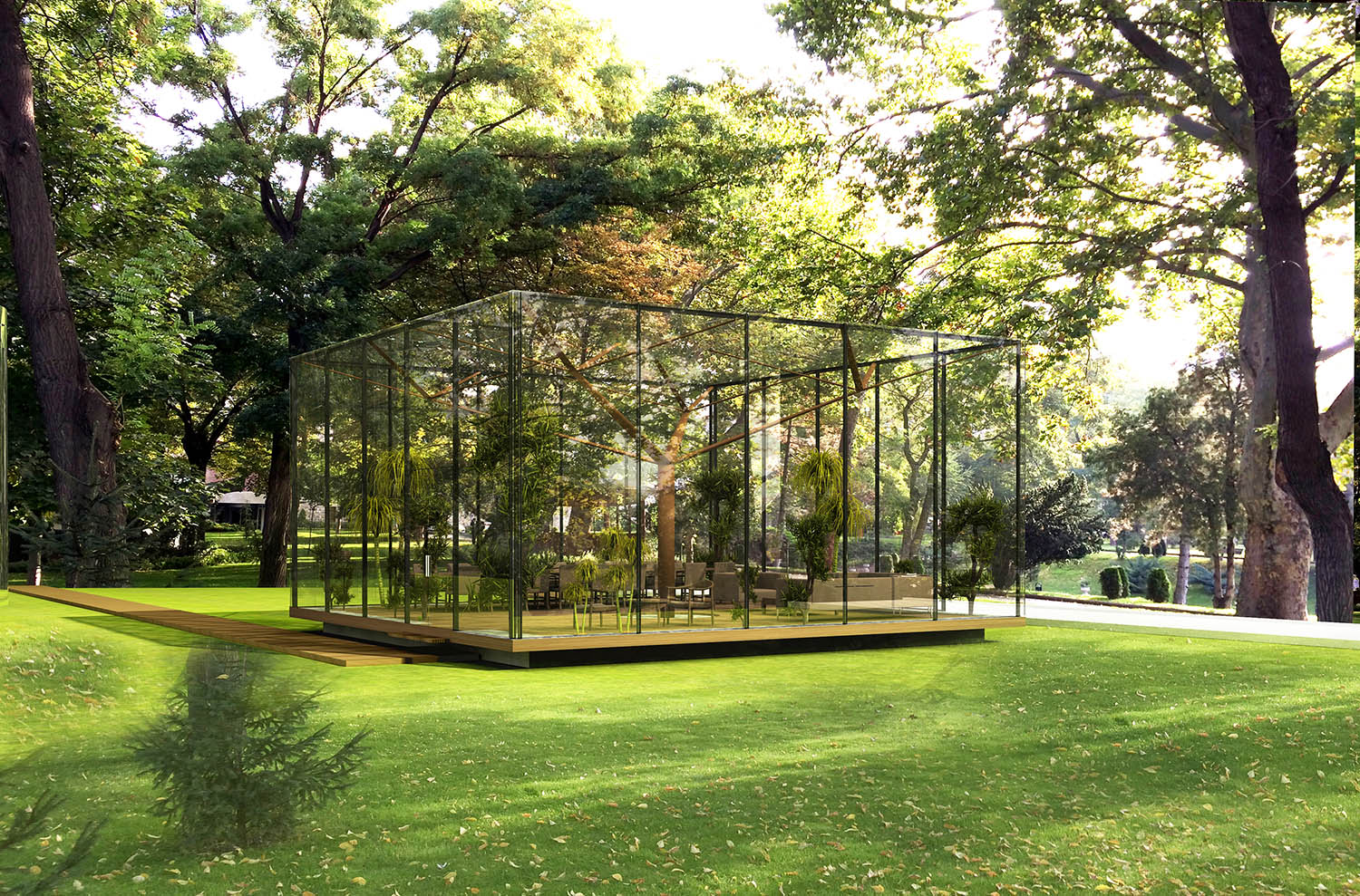GLASS PAVILION - 07 YAZGAN DESIGN ARCHITECTURE