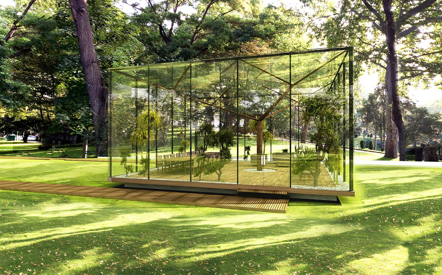 GLASS PAVILION - 08 YAZGAN DESIGN ARCHITECTURE