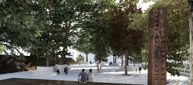 HICRI SEZEN PARK 'GLASS SQUARE' - 06 YAZGAN DESIGN ARCHITECTURE