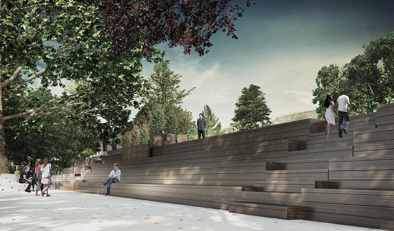 HICRI SEZEN PARK 'GLASS SQUARE' - 07 YAZGAN DESIGN ARCHITECTURE