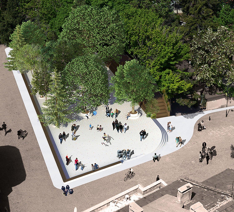 HICRI SEZEN PARK 'GLASS SQUARE' - 10 YAZGAN DESIGN ARCHITECTURE