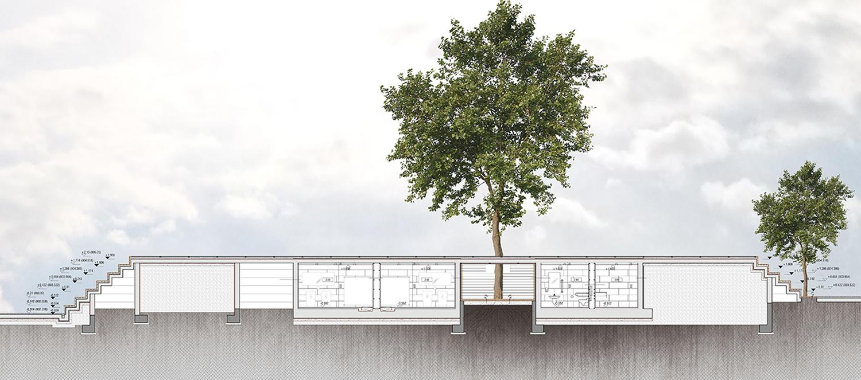 HICRI SEZEN PARK 'GLASS SQUARE' - SECTION 03 YAZGAN DESIGN ARCHITECTURE}