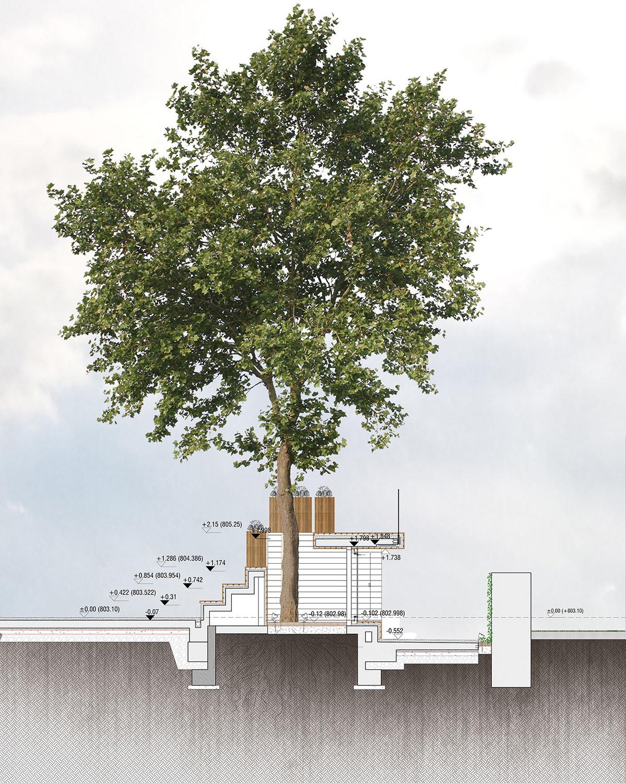 HICRI SEZEN PARK 'GLASS SQUARE' - SECTION 04 YAZGAN DESIGN ARCHITECTURE}