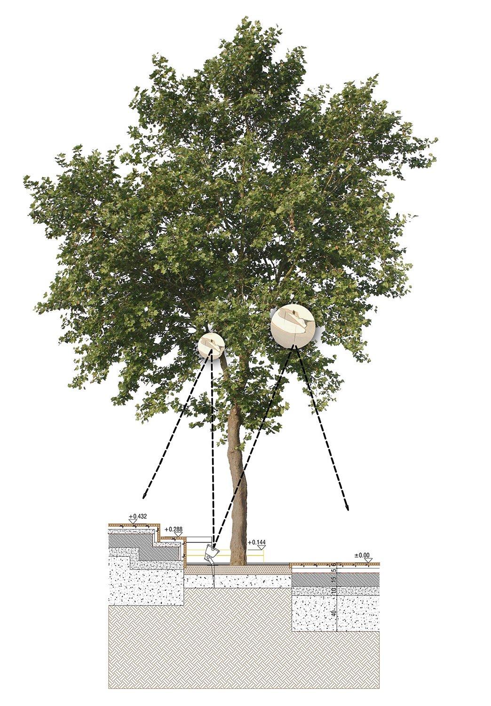 HICRI SEZEN PARK 'GLASS SQUARE' - SECTION 05 YAZGAN DESIGN ARCHITECTURE}