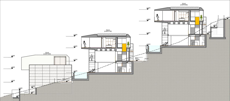 KALKAN ALTES VILLAS-SITE SECTION 02 YAZGAN DESIGN ARCHITECTURE}