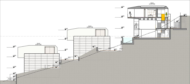 KALKAN ALTES VILLAS-SITE SECTION 03 YAZGAN DESIGN ARCHITECTURE}