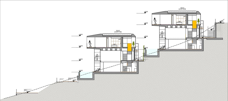 KALKAN ALTES VILLAS-SITE SECTION 04 YAZGAN DESIGN ARCHITECTURE}