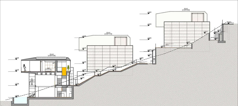 KALKAN ALTES VILLAS-SITE SECTION 05 YAZGAN DESIGN ARCHITECTURE}