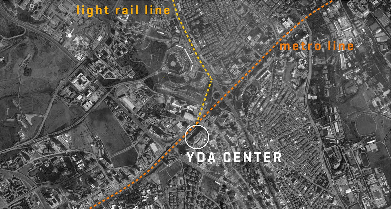 YDA CENTER - MAPS LOCATION YAZGAN DESIGN ARCHITECTURE}