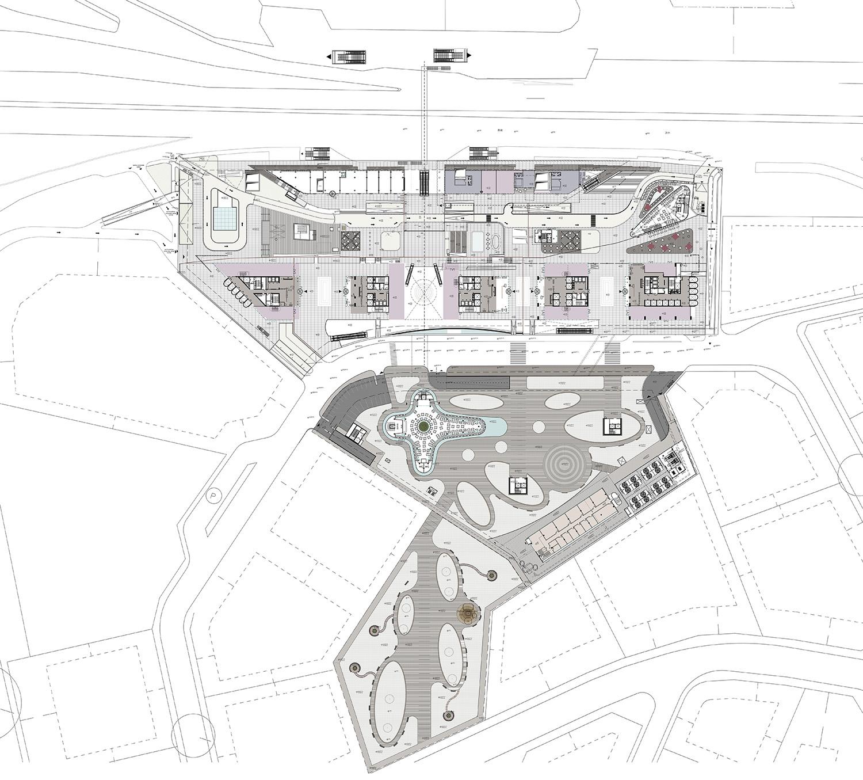YDA CENTER - GROUND FLOOR PLAN YAZGAN DESIGN ARCHITECTURE}