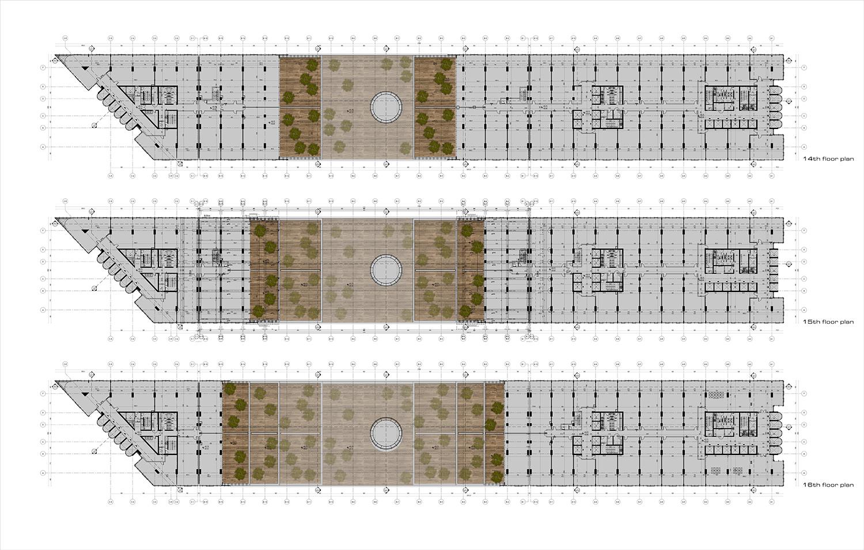 YDA CENTER - FLOOR PLANS YAZGAN DESIGN ARCHITECTURE}