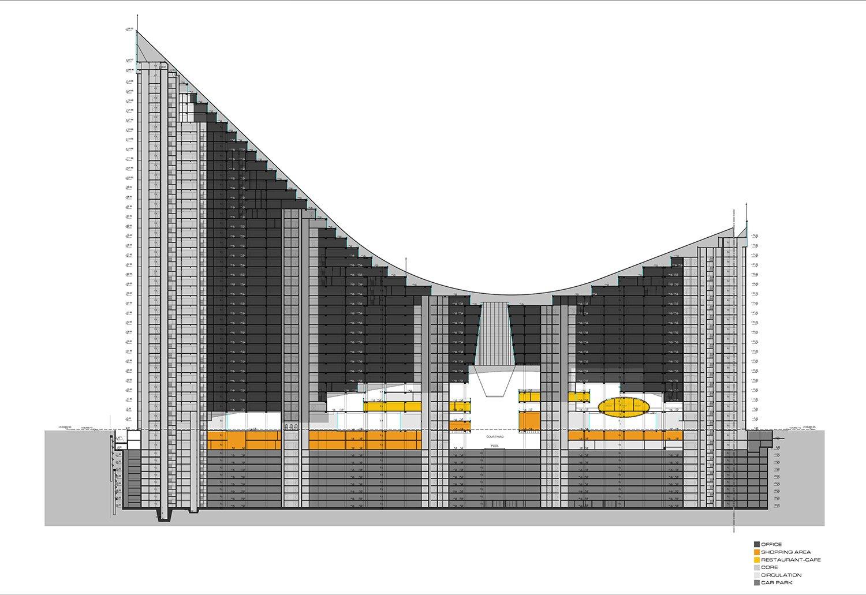 YDA CENTER - SECTION 01 YAZGAN DESIGN ARCHITECTURE}