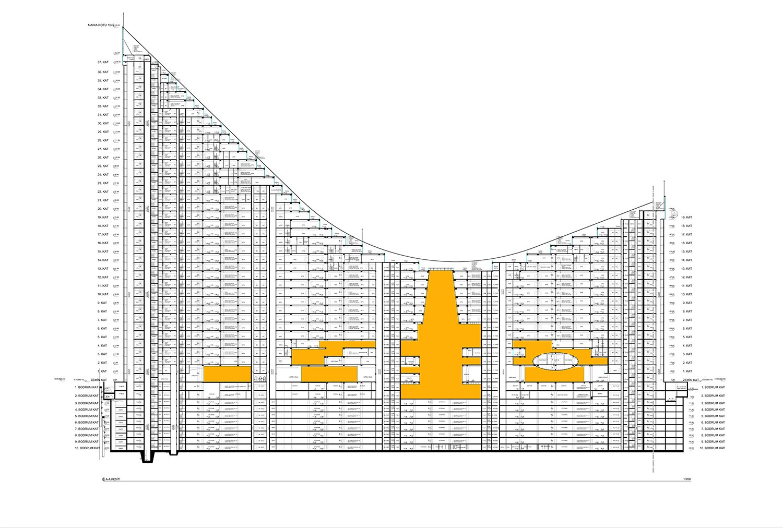 YDA CENTER - SECTION 04 YAZGAN DESIGN ARCHITECTURE}