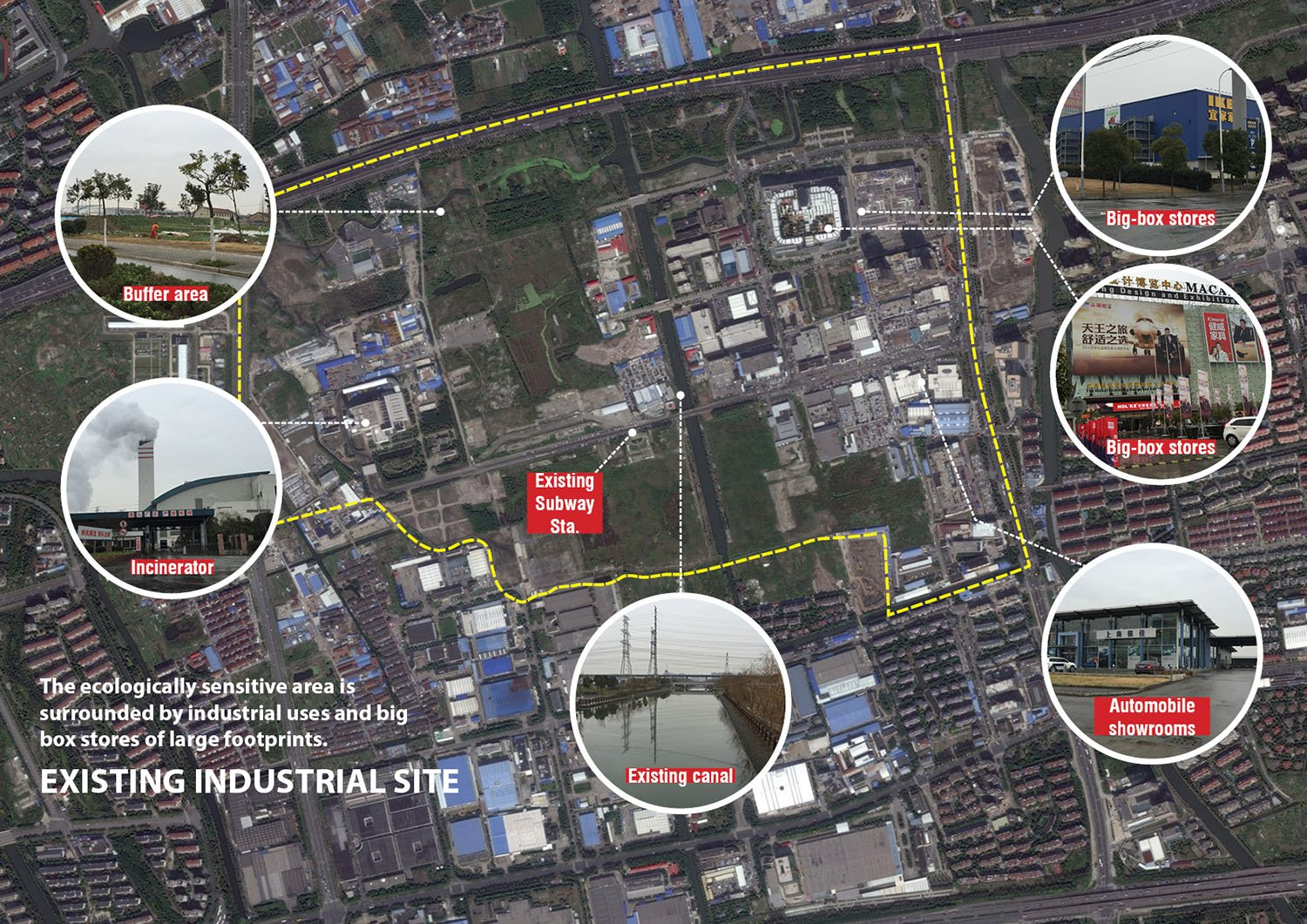 EXISTING INDUSTRIAL SITE }